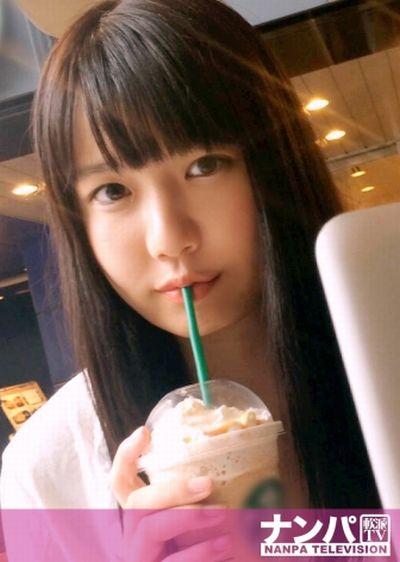 【りほ】カフェでナンパしたパイパン黒髪美少女をホテルでハメる ~MGS動画~