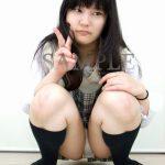 【ていら】ロングヘア美少女の女子校生の純白パンティを見せてもらいました ~PANTY-LOVE~