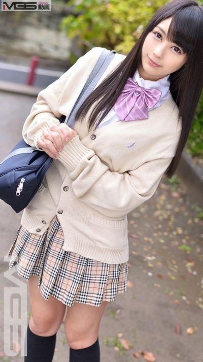 【るか】嫌がりながらも股を濡らしてしまう美少女女子校生をハメる ~MGS動画~