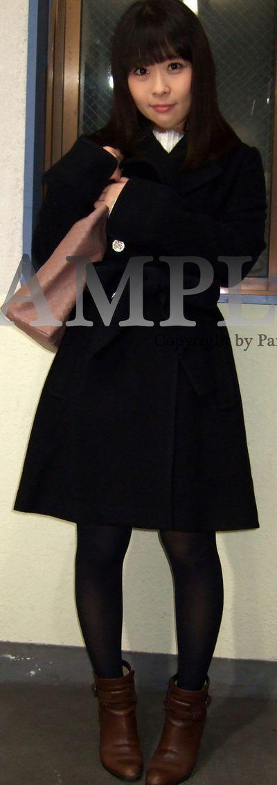 【いろは】デニムミニスカートの美少女の黒パンスト越しのパンチラ ~PANTY-LOVE~