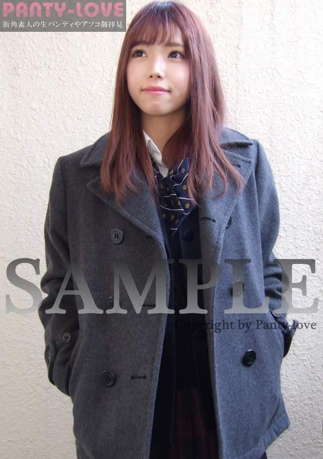 【こべに】アイドル顔な美少女JKの制服パンチラ ~PANTY-LOVE~