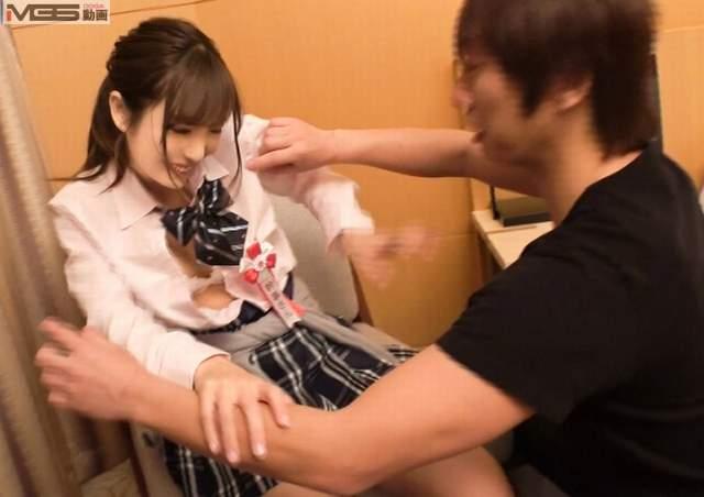 体操部の女子高校生が着せてエッチしたい制服着衣の画像