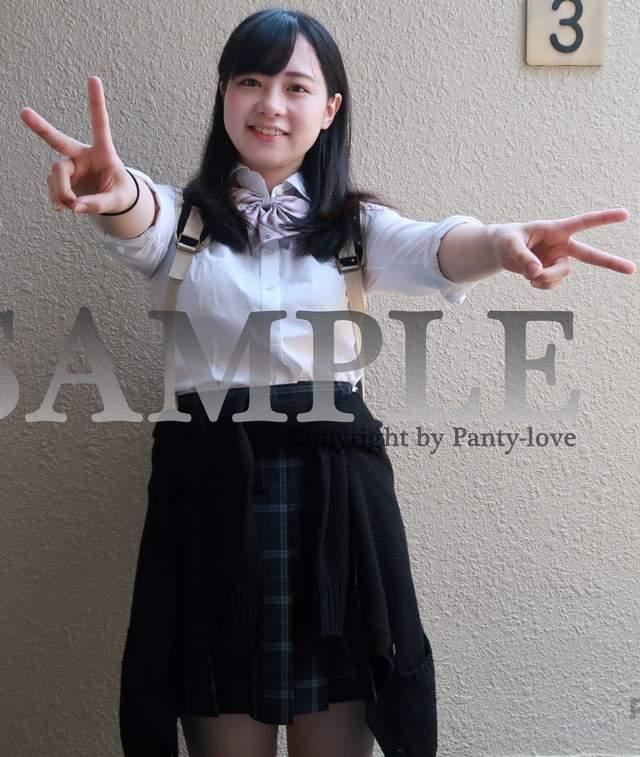 【ここる】ふっくらほっぺがかわいい色白の女子高生のパンチラ ~PANTY-LOVE~